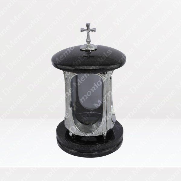 Eternity-Lantern-Black-SIlver-Door