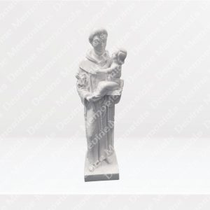 St.-Anthony-White-Marble-Statue