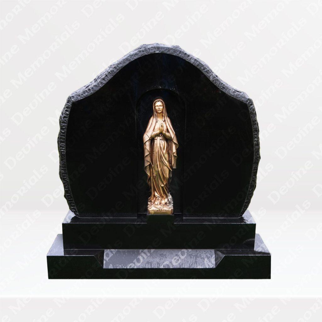 Statue Headstones